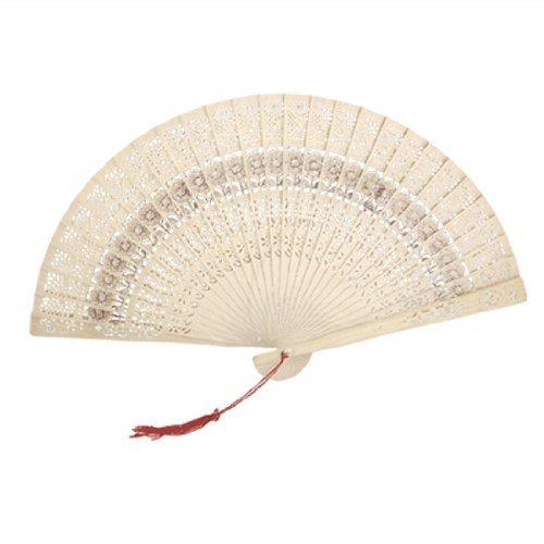 folding-wooden-carved-sunflower-print-fragrant-hand-fan