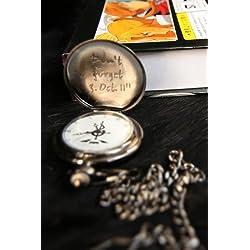 Fullmetal Alchemist Edward Elric dark gray pocket watch