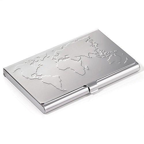 Troika Visitenkartenhülle, silber (Silber) - CDC75/CH (Söhne, Männer Die Hosen)