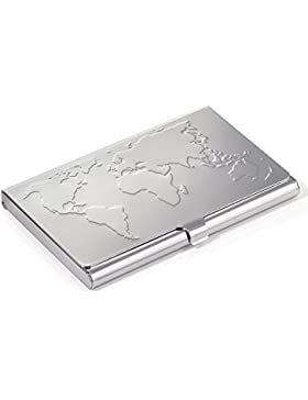 Troika Portatarjeta de visita, plata (plateado) - CDC75/CH