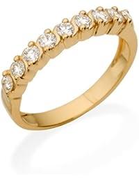 Miore MC206Y Memoire - Diamantring 18 Karat (750) Gelbgold mit 9 Brillanten zus.0,50Ct - IGI Zertifikat