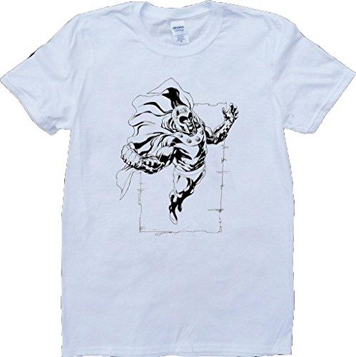 X Men Magneto Blanco Por Encargo T-Shirt - Large
