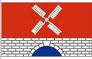 Hochformatflagge Klein Barkau - 120 x 300cm - Flagge und Fahne