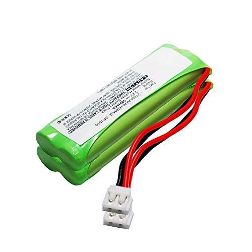 subtel 2X Akku kompatibel mit Audioline Monza,kompatibel mit Medion Life S63062, S63065, MD82973, MD93035, kompatibel mit Swissvoice DP500 Eco Plus - GPHC05RN01 (500mAh) Ersatzakku Batterie