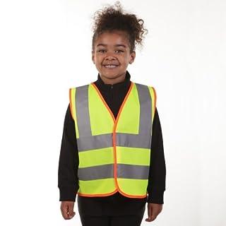 Derby Hi-Vis Kid's Vest - 4-6 years - Yellow