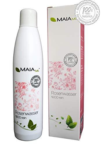 Rosenwasser 100% von MAIA MC - gesichtswasser natürlich vegan bio 250 ml - OHNE Zusatzstoffe