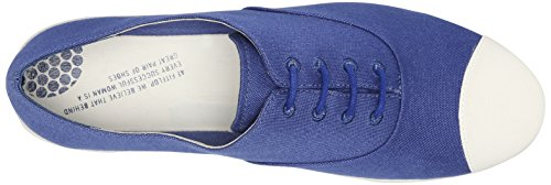 FitFlop F-pop Tm Oxford Canvas, Stringate Donna Blu