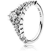 Pandora Ring 196226CZ-50 Woman Silver Tiara fairytale