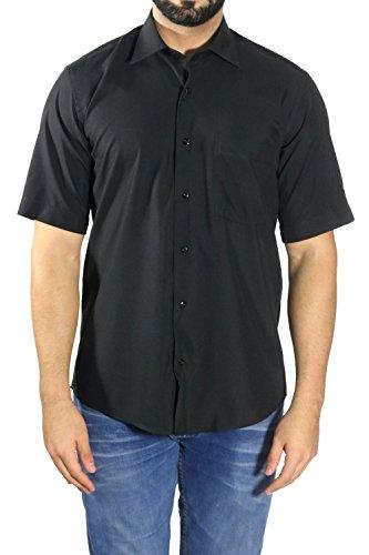 MMUGA -  Camicia classiche  - Uomo Nero