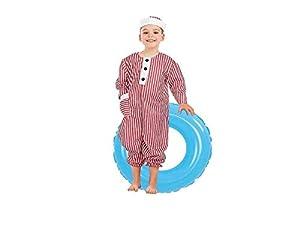 Creaciones Llopis- Disfraz Infantil bañista niño, Multicolor (3398-3)
