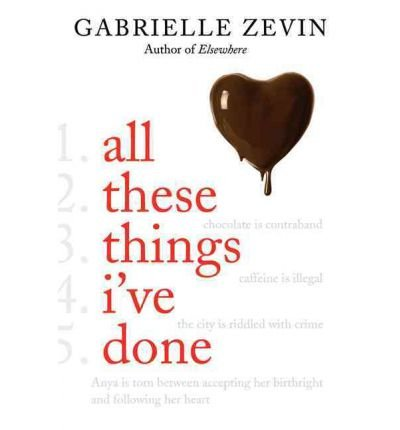 All These Things I've Done (Birthright (Zevin (Hardcover)) (Hardback) - Common