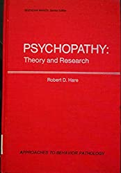Psychopathy: Theory and Research (Approaches to behavior pathology)
