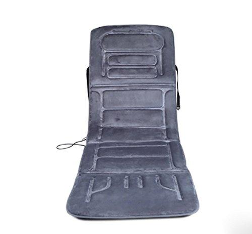Baumwolle Traditionellen Stuhl (D&F Shiatsu Massagesitzauflage Massage Stuhl, 10 Gruppe Vibrierende Massage Motor GanzköRper, Zu Hause, Auf Dem Auto A94)