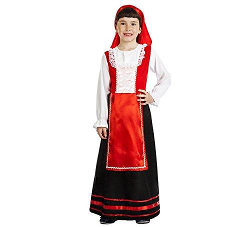 Imagen de disfraz de pastora labriega para niña