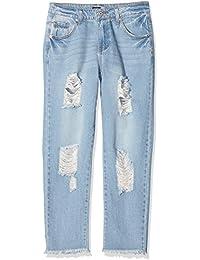 Boohoo Jane Boyfriend Denim, Jeans Femme