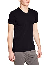 Teddy Smith Tawax - T-shirt - Uni - Col V - Manches courtes - Homme