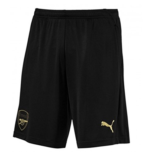 Puma Arsenal FC Training Shorts Zipped Pockets with Inner SL Pantalones, Hombre, Negro, Medium