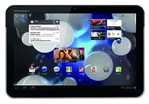 Motorola Xoom Tablet (25,7 cm (10,1 Zoll) HD-Touchscreen, Wifi, 3G, Android 3.0, Dual-Core Prozessor) schwarz/silber