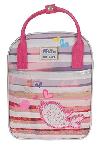 Prêt 428-7041-2 Rucksack Pret Denimized, 29 x 22 x 10cm, pink