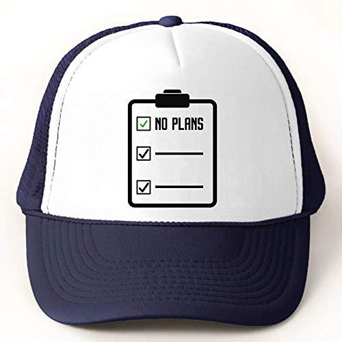 graphke No Plans Free Schedule Funny Gorra de Béisbol Trucker Hat
