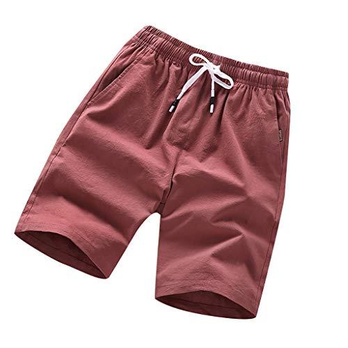 hahashop2 Shorts Herren Sommer Sport Joggen und Training Shorts Fitness Kurze Hose Jogging Hose Bermuda Hosen - Lässige Five-Point-Sportshorts für den Sommer