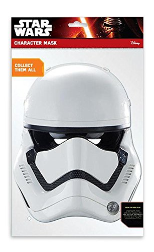 STAR WARS Episode 7 Party Maske Stormtrooper (Stormtrooper Force Awakens Kostüm)