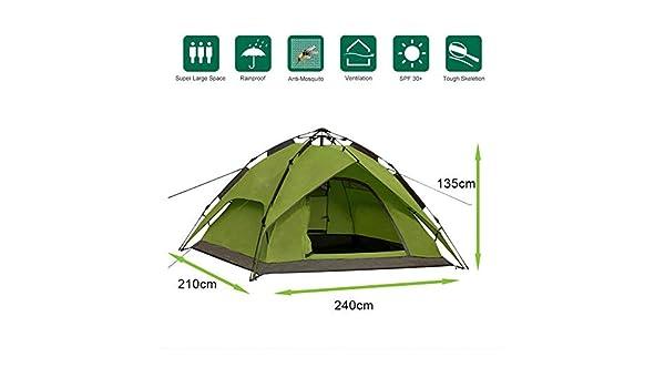 Defacto® Camping Tent Second Tent 2 3