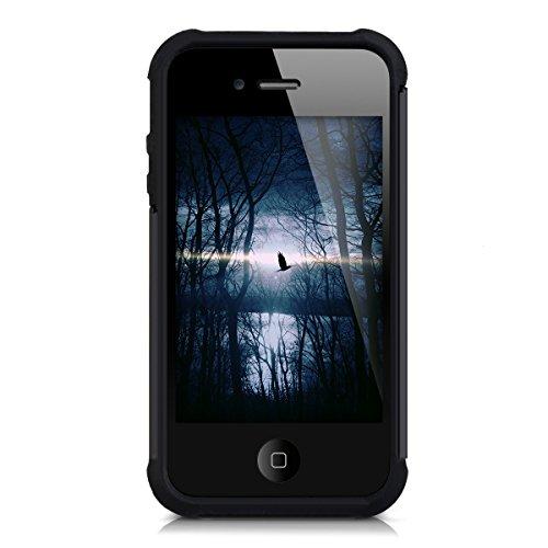 Kwmobile tui hybride pour apple iphone 4 4s en noir for Interieur iphone