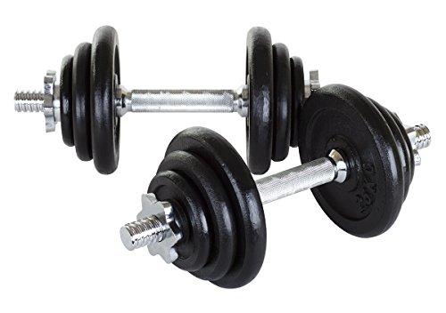 Hop-Sport Kurzhanteln Guss 2x10 kg, 023006