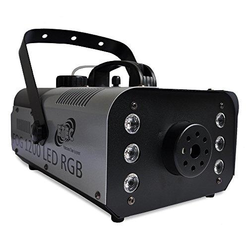 belmaschine 6x3 Watt LED RGB 3in1 Funkfernbedienung Fogger Party Disco DJ Club Event ()