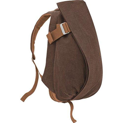 Cote&Ciel Isar Large Raw Canvas Backpack - Roasted segunda mano  Se entrega en toda España