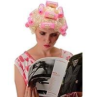 WIG ME UP ® - 4204-P88 Peluca señoras Carnaval Halloween, ama de casa