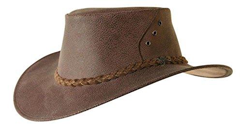 vera-pelle-di-canguro-cappello-boomer-von-cacatua-traders-prodotto-in-australia-adulti-unisex-marron