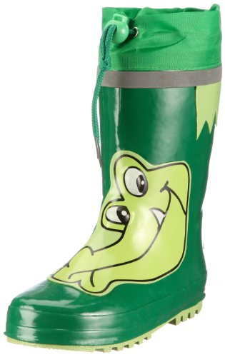 Playshoes Boys Wellies Crocodile Wellington Boots