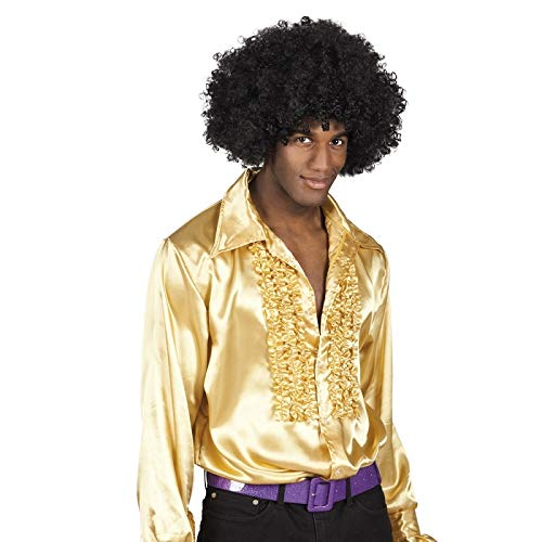 Gold Disco Fever Kostüm - Boland Hemd Uomo: Medium