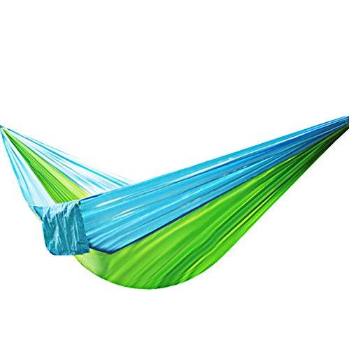 Junjiagao-Prodotti all\'aperto Outdoor-Produkte Neue Fallschirm-Hängematte Outdoor Double Nylon Adult Swing Lazy Chair, erschwinglich