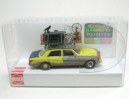 Busch Voitures - BUV46858 - Modélisme Ferroviaire - Mercedes-B W123 Limousine
