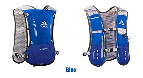 Imagen de aonijie  de hidratación ligera para actividades al aire libre, senderismo, ciclismo, 1,5 litros, azul alternativa