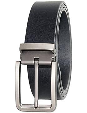 Weinida Full Grain Hombres Negocio Vestimenta Casual Ropa Cinturón de Cuero Cinturones hecho a mano 38mm