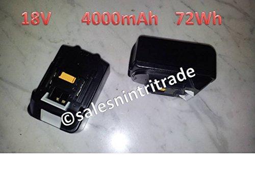 Preisvergleich Produktbild 1x BL1840 18V 4000mAh, 72Wh für Makita ausgestattet