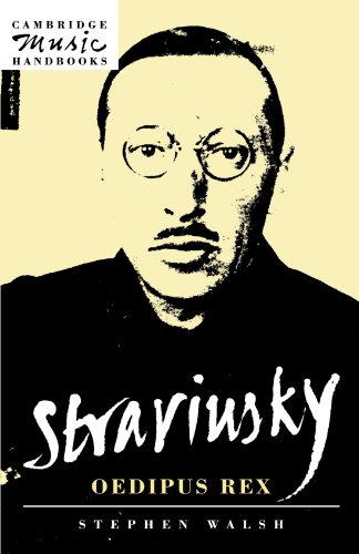 Stravinsky: Oedipus Rex (Cambridge Music Handbooks) (Buch Oedipus Rex)