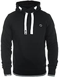 SOLID Benjamin Hood Herren Kapuzenpullover Hoodie Sweatshirt mit Kapuze aus hochwertiger Baumwollmischung Meliert