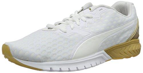 Puma Damen Ignite Dual Gold Wn's Laufschuhe Weiß (puma WHITE-GOLD 01)