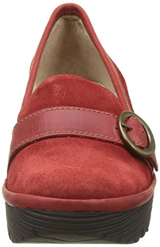 Fly London  Yond771fly, Escarpins femme Rouge (Red)