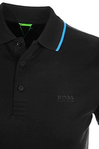 BOSS Athleisure Herren Poloshirt PL-Tech Schwarz (Black 001)