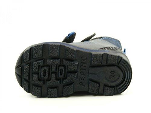 Ricosta 37-34200 Friso Schuhe Jungen Boots Stiefel Weite weit Sympatex Blau
