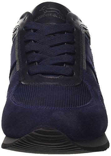 Harmont & Blaine Sneaker, Chaussures à Lacets Homme Blu (Navy / Blue)