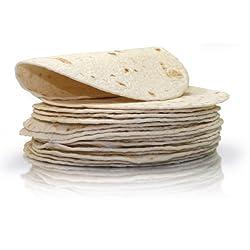 La Costeña Tortilla Frisch 20 Cm - 20 Stück Je Packung
