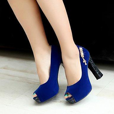 Talloni delle donne Primavera Autunno scarpe formali in similpelle per ufficio Outdoor & amp;Partito & amp Carriera;Abito da sera casuale tacco grosso Sp US6 / EU36 / UK4 / CN36