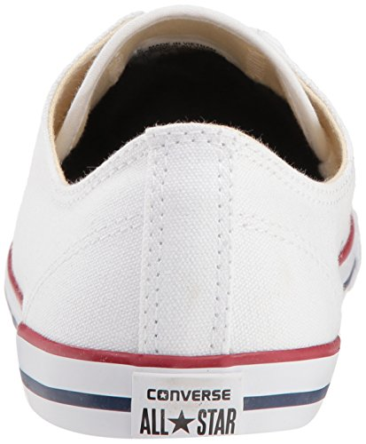 Converse CT Dainty Ox C537204 Damen Sneaker, Weiß (Blanc/Rouge), 39 EU - 2
